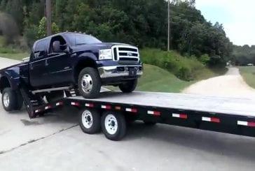 Comment ne pas charger un camion sur une remorque