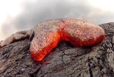GoPro volcan de coulée de lave