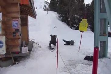 Snowboarder ne sera pas renoncer à téléski