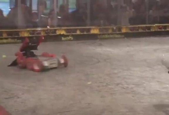 Robots se battent jusqu'à la mort dans le championnat
