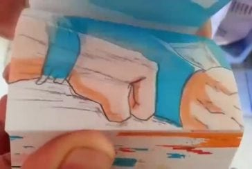 Animation flipbook épique