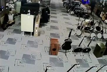 Magasin voleur fait le mort