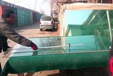 Une façon rapide de verre taillé