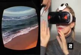 Vieux flip out regarder porno réalité virtuelle pour la première fois