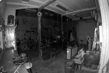 Garage vol de la caméra de vision nocturne