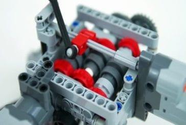 Lego Technic transmission de servo rc six-vitesse