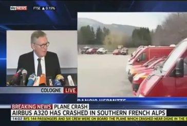 Alpes accident d'avion