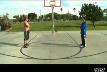 Mondes plus grands coups de basket-ball de tour