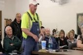 Audition sur la fracturation des eaux usées et dans le comté de sioux