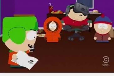 Cartman de South park porte des lunettes Oculus