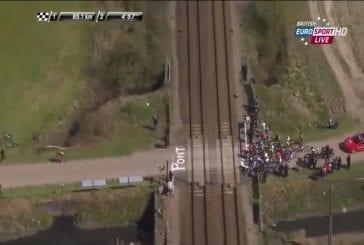 Interfère avec le train Paris - Roubaix 2015