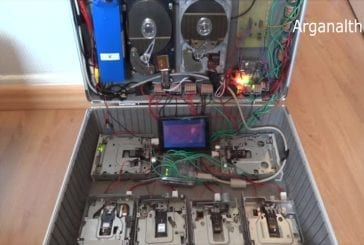 Disque dur et disquette nirvana de musique