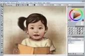 Dessiner l'évolution d'un enfant sur ordinateur