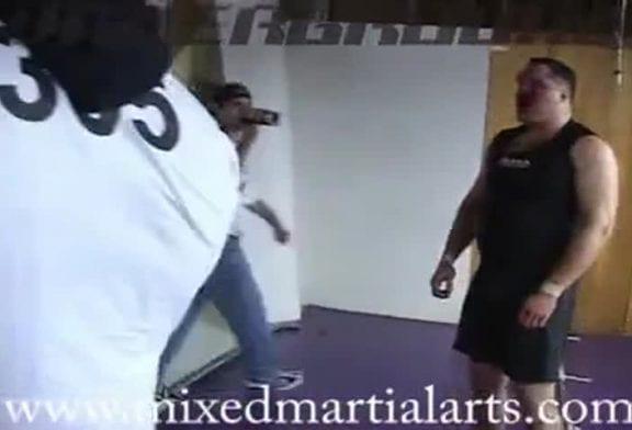 Sean Gannon vs. Kimbo Slice Mixed Martial Arts