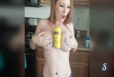Hold a Coke with your Boobs Challenge