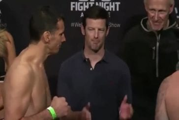 UFC star Sean O'Connell does the best weigh ins