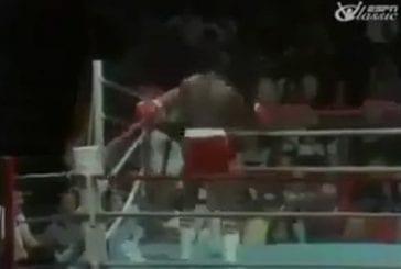 Un boxeur qui ne se laisse pas toucher