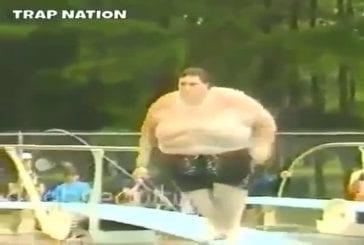 Tsunami à la piscine publique