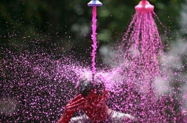 La fête des couleurs en Inde